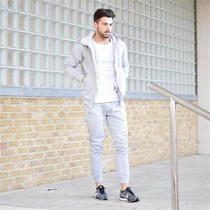 Grey Joggers Mens Grey Jogging Bottoms - Vascular Wear