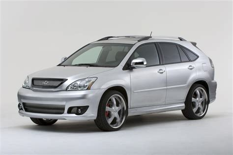 2009 Lexus Rx 400h Technical Specifications And Data