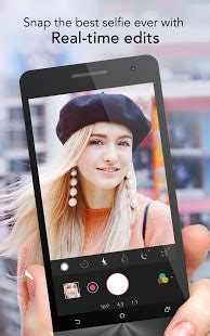 youcam perfect selfie photo editor android apps