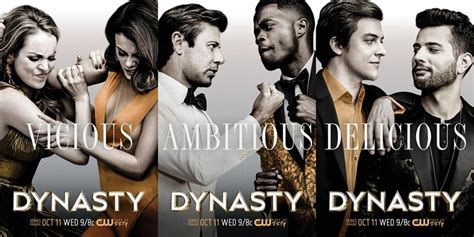 In 'dynasty' Reboot, Women Are Strong And Gays Are Out And