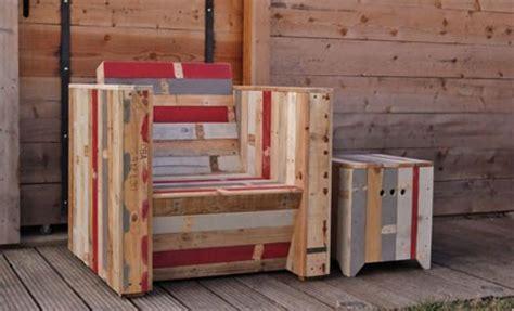 plan canapé bois plan canapé en palette de bois