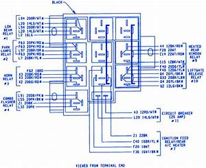 Plymouth Voyager Ls 1999 Terminal Fuse Box  Block Circuit Breaker Diagram  U00bb Carfusebox