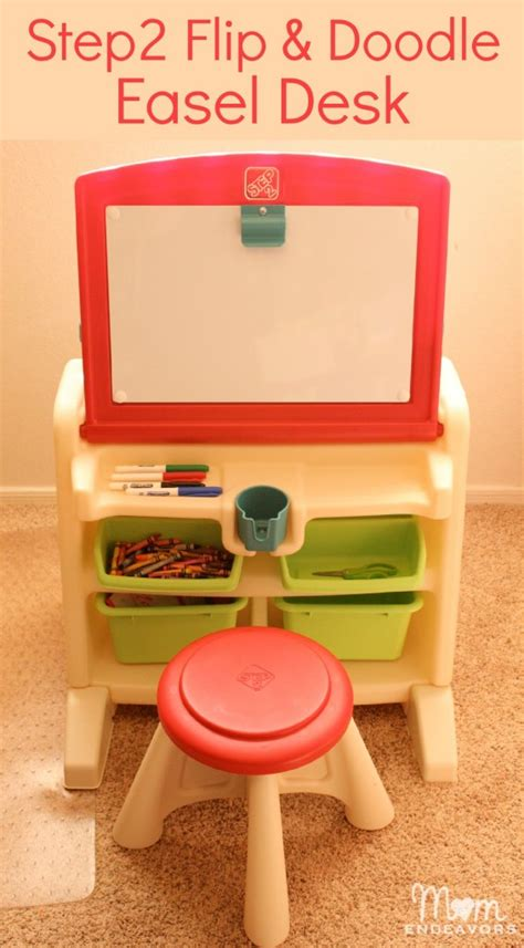 step2 flip doodle easel desk with stool review