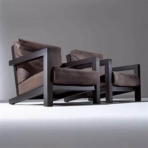 Fauteuil Cuir Et Bois : fauteuil cuir et bois id es de d coration int rieure french decor ~ Teatrodelosmanantiales.com Idées de Décoration