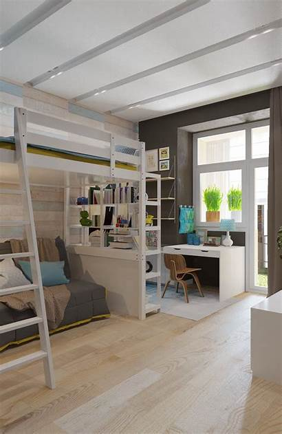 Rooms Colorful Modern Designing Plenty Bed Spacious