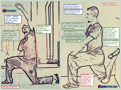 hip tight flexor hips stretch stretches flexors pain function sleeping flexibilityrx flexibility squats muscle training slumbering joint gait running tag