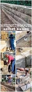 Steine Zum Bepflanzen : 25 best ideas about natursteinmauer auf pinterest feuerstellen aus stein rock h user und ~ Eleganceandgraceweddings.com Haus und Dekorationen