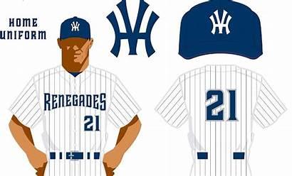 Pinstripes Renegades Yankee Hudson Valley Yankees