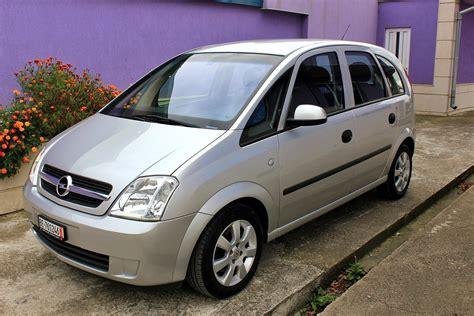 Opel Meriva by Opel Meriva 1 6 16v Review Automatic 2005