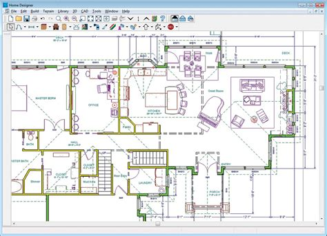 Floor Plan Designer Software Freeware by Home Designer Architectural