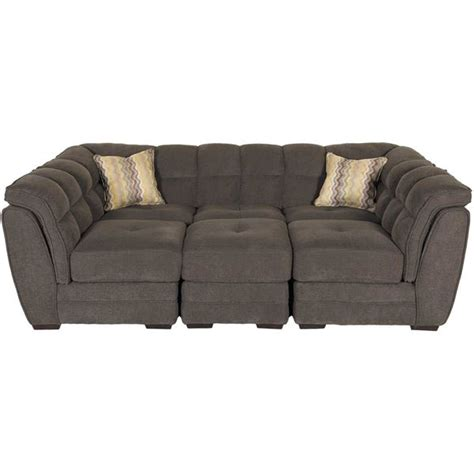 sectional pit sofa clio gray 4 pit sectional 1a 100 4pc vogue