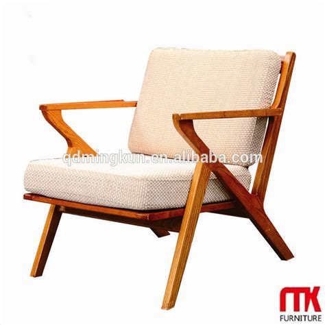 lasted sale wooden frame armchair with fabric