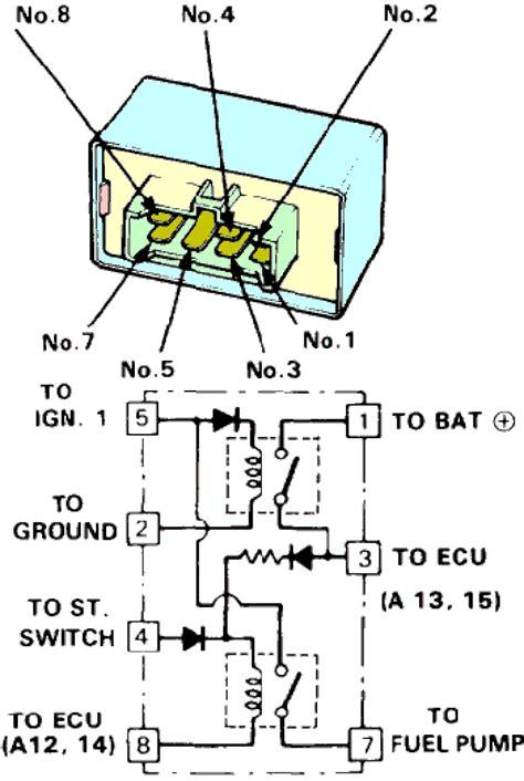 1994 honda accord main relay wiring diagram wiring library