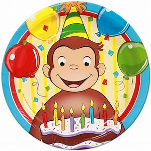 Curious George | Special Events Party Supply Store in AK