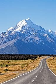 MT Mount Cook New Zealand