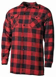 chemise coton type bucheron carreaux rouge et noir achat With chemise homme rouge et noir a carreau