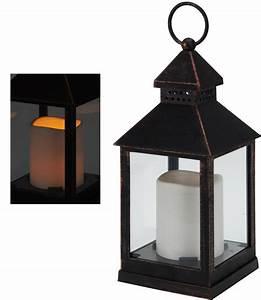 Kupfer Laterne Windlicht : deko laterne kupfer optik inkl led kerze dekoration windlicht leuchte lampe ebay ~ Sanjose-hotels-ca.com Haus und Dekorationen
