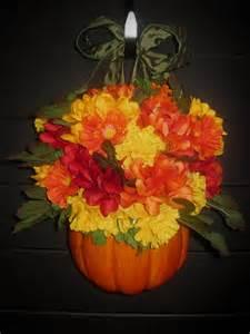 Fall Pumpkin Door Decorations