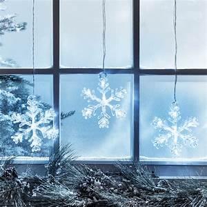 Stockholm Snowflake Christmas Window Light