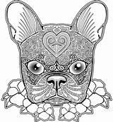 Pug Coloring Getdrawings sketch template