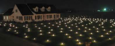 lawn lights illuminated lawn decor the green