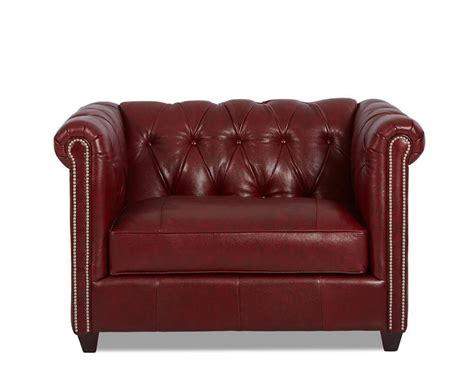 american leather company sofa american made tufted leather chair and a half cl4440