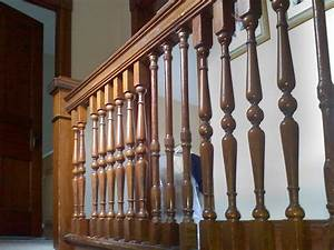 Rustic Stair Balusters » Home Decorations Insight