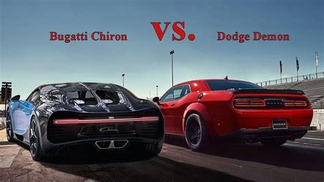 Bugatti Vs by 2019 Bugatti Chiron Quarter Mile Bugatti Cars Review