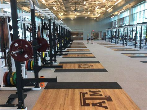 texas  olympic sports weight room installation power lift