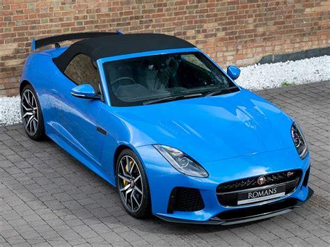 jaguar  type  svr ultra blue