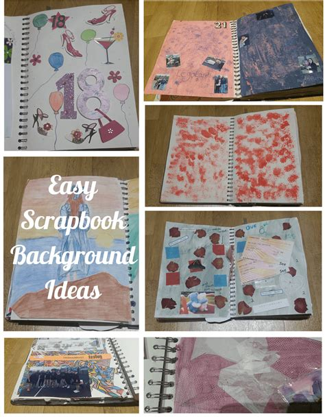 Easy Photo Background Ideas by Easy Scrapbook Background Ideas The Mummy Toolbox