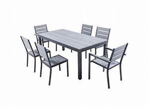 Ensemble Table De Jardin : location table de terrasse en aluminium et polywood magda ~ Teatrodelosmanantiales.com Idées de Décoration