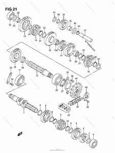 Suzuki Atv 2006 Oem Parts Diagram For Transmission