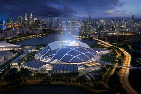Singapore Sports Hub Bags A Win at World Architecture
