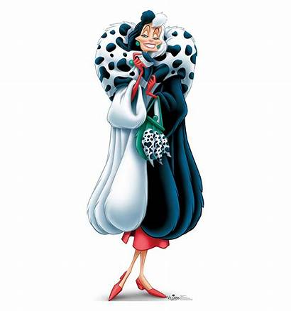 Cruella Vil Disney Villains Cardboard Cutout Won