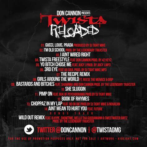 twista reloaded mixtape  stream hiphopdx