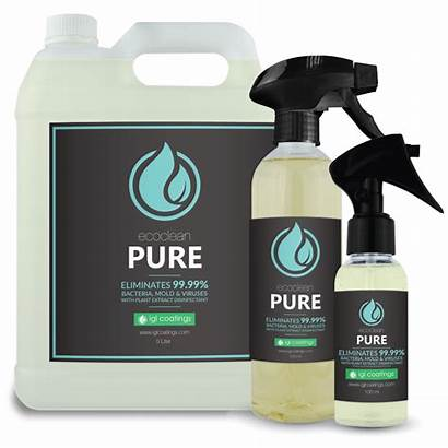 Pure Ecoclean Igl 500ml Disinfectant Coatings Msds