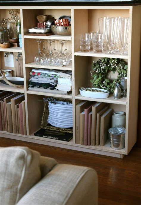 fill  void  diy plywood bookcase remodelista