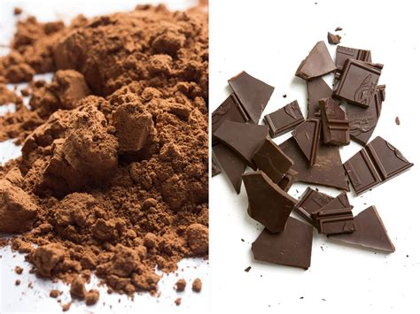chocolate substitute can i substitute unsweetened chocolate for cocoa powder serious eats