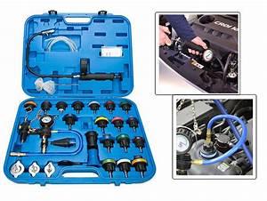 28pcs Cooling System Color Cap Radiator Pressure Tester