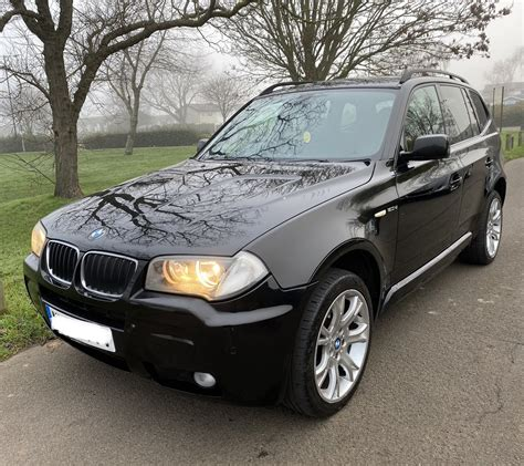 The bmw x3 is an important model for the brand, which is why they want to make it a more appealing offer through a revised range structure. 2008 BMW X3 2.0D M Sport Auto 175BHP Black excellent ...