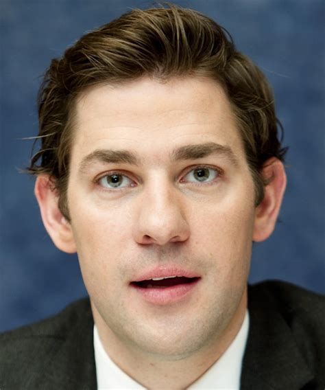 John Krasinski Short Straight Casual Hairstyle