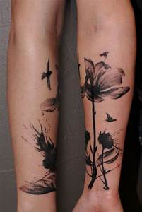 24+ Black And White Poppy Tattoos