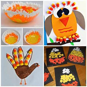 Candy Corn Crafts for Kids to Make - Crafty Morning