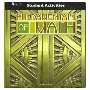Bob Jones Math Activity Manual