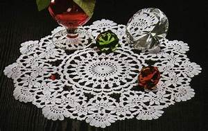 20 Free Crochet Round Doily Patterns