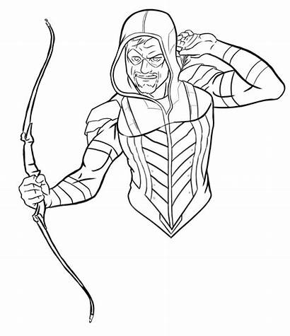 Arrow Rebirth Drawing Drawings Deviantart Coloring Sketch