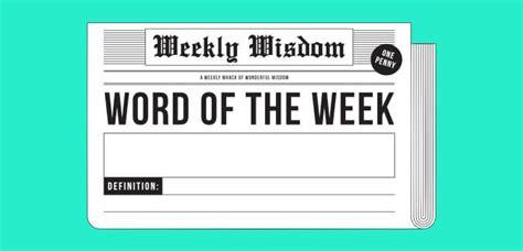 word   week newspaper paperzip