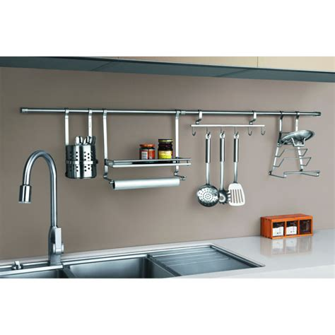 kitchen hanging accessories polished sus202 wall kitchen hanger op gji tc 1787