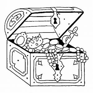 coloring books Pirate treasure to print and free download